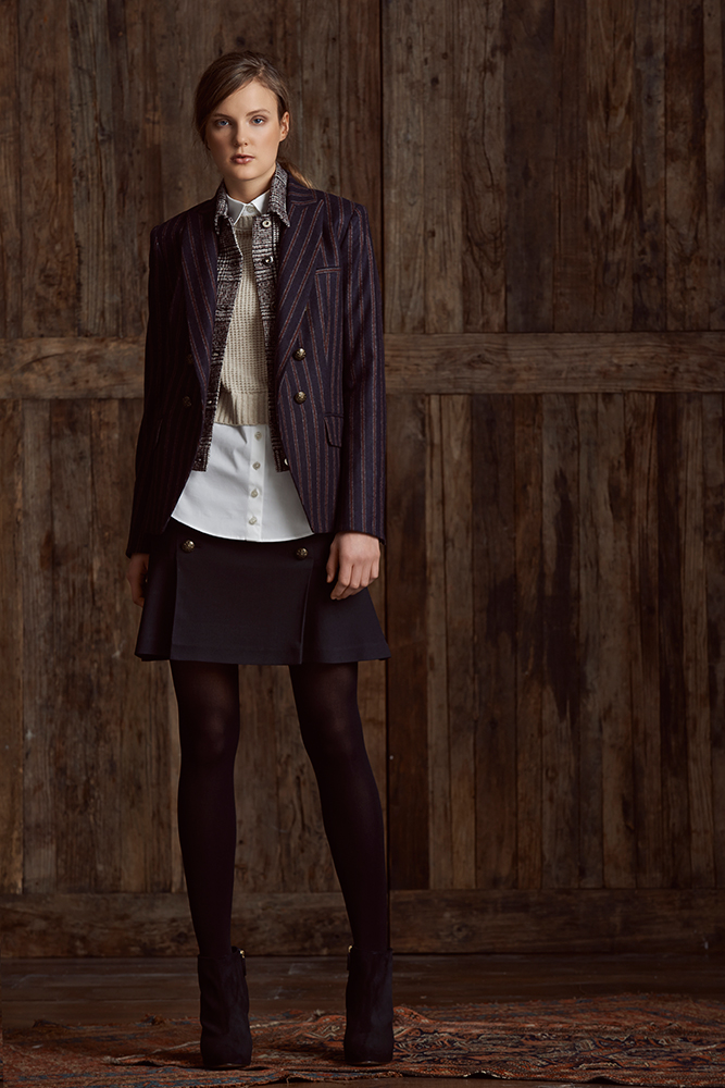 Skirt-suits-Veronica-Beard-Ready-To-Wear-Fall-Winter-2015-Women-outfit 70+ Elegant Winter Outfit Ideas for Business Women