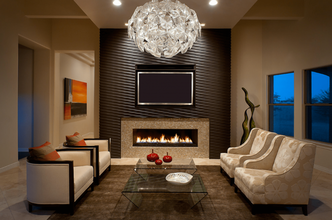 Textured-accent-wall-58e438e25f9b58ef7e6f4ccb-675x448 15 Outdated Home Decorating Trends Coming Back in 2019
