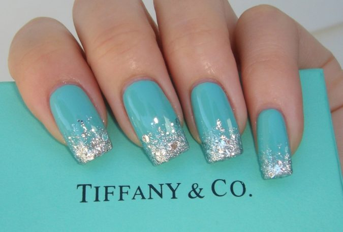 Tiffany-blue-nail-design-2-675x457 60+ Most Fabulous Winter Nail Design Ideas This Year