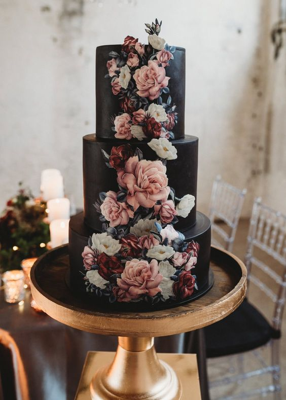 black-1 Trend Forecasting: Top 15 Expected Wedding Color Ideas for 2019