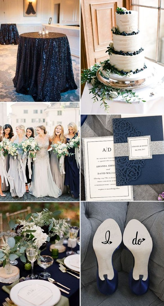 black Trend Forecasting: Top 15 Expected Wedding Color Ideas for 2019
