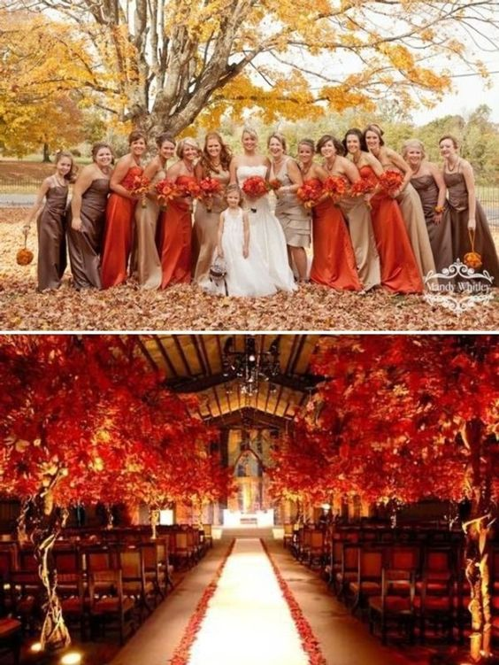 coral... Trend Forecasting: Top 15 Expected Wedding Color Ideas for 2019