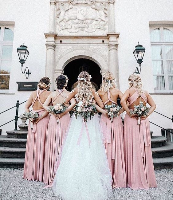 dusty-rose-1 Trend Forecasting: Top 15 Expected Wedding Color Ideas for 2021