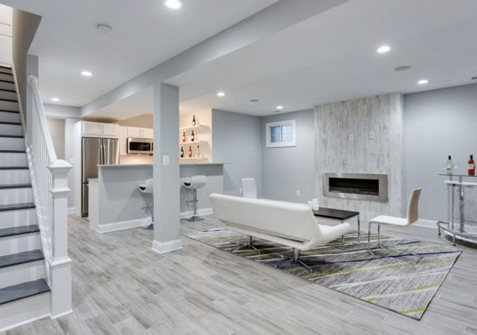 gray-basement.-675x475 15+ Outdated Home Decorating Trends Coming Back in 2020