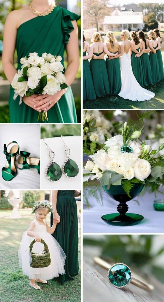 green Trend Forecasting: Top 15 Expected Wedding Color Ideas for 2019