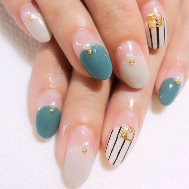 korean-nail-art-pearls 60+ Most Fabulous Winter Nail Design Ideas This Year