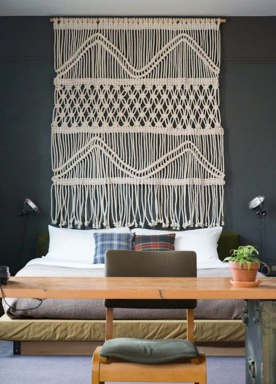 macrame-art 15 Outdated Home Decorating Trends Coming Back in 2019