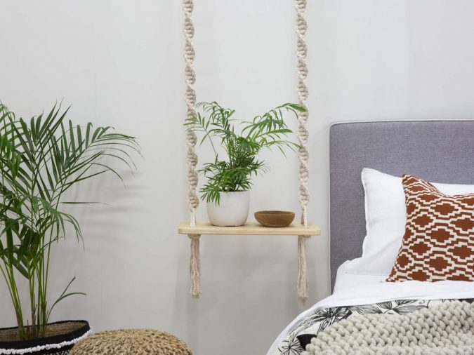 macrame-hanging-shelf-675x506 15+ Outdated Home Decorating Trends Coming Back in 2020