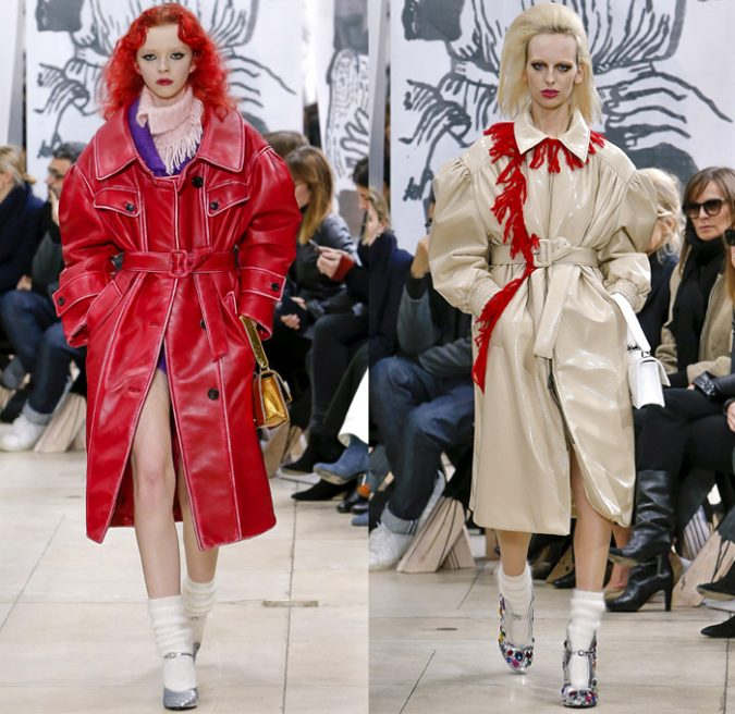 miu-miu-prada-2018-2019-fall-winter-womens-runway-paris-fashion-week-oversized-coats-675x656 70+ Elegant Winter Outfit Ideas for Business Women