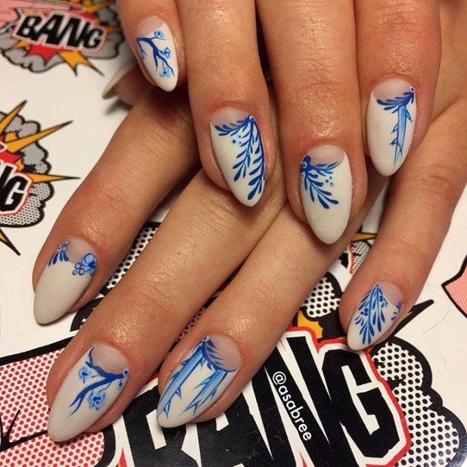 nail-art-675x675 +60 Hottest Nail Design Ideas for Your Graduation