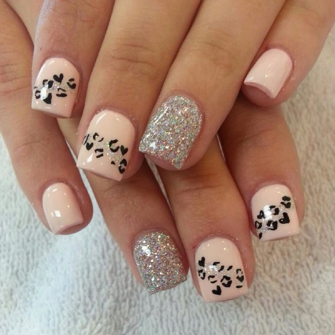 nail-art-design-animal-prints-2-675x675 +60 Hottest Nail Design Ideas for Your Graduation