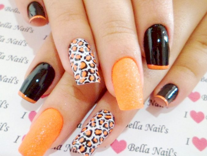 nail-art-design-animal-prints-675x511 60+ Most Fabulous Winter Nail Design Ideas This Year