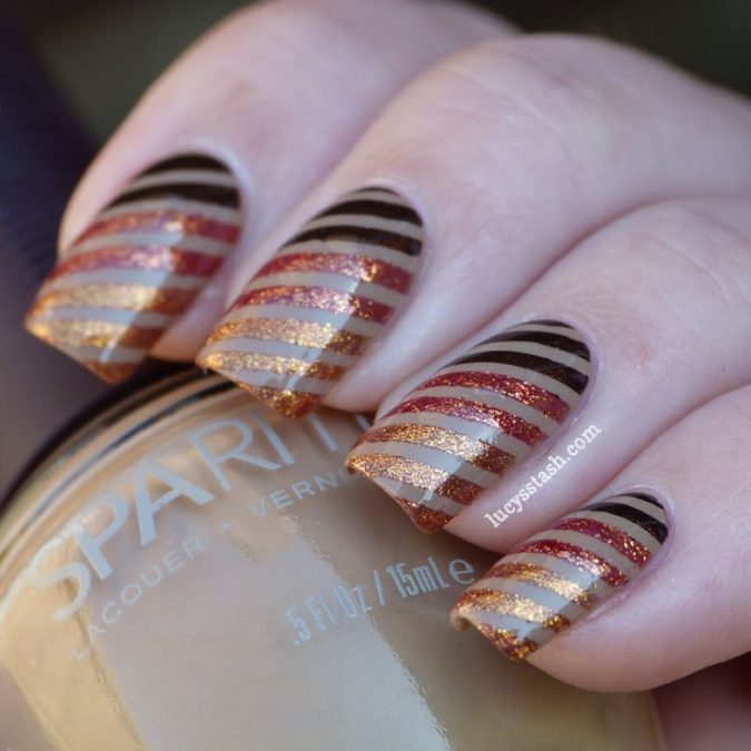 nail-art-gitter-touch-675x675 60+ Most Fabulous Winter Nail Design Ideas This Year