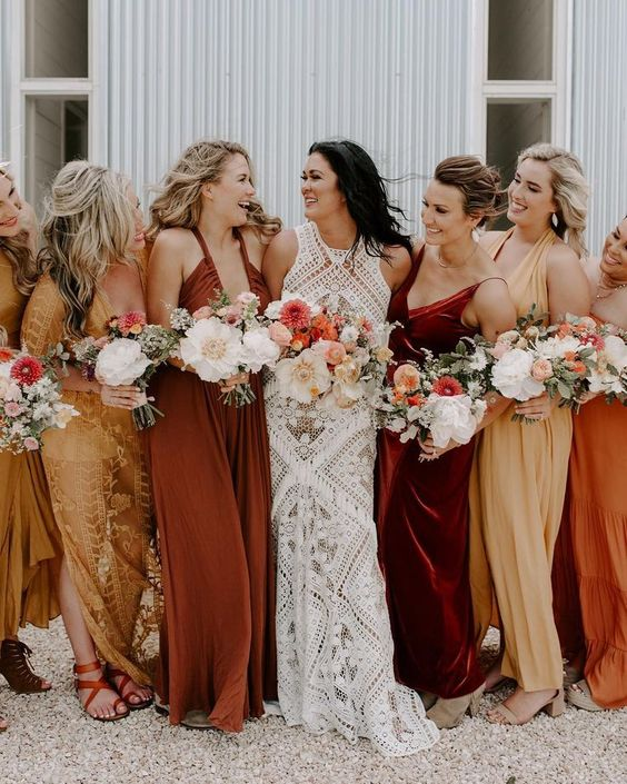 orange-1 Trend Forecasting: Top 15 Expected Wedding Color Ideas for 2019