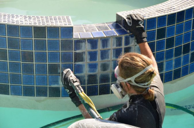 pool-tile-cleaning.-675x447 Top 15 Must-Follow Pool Maintenance Tips