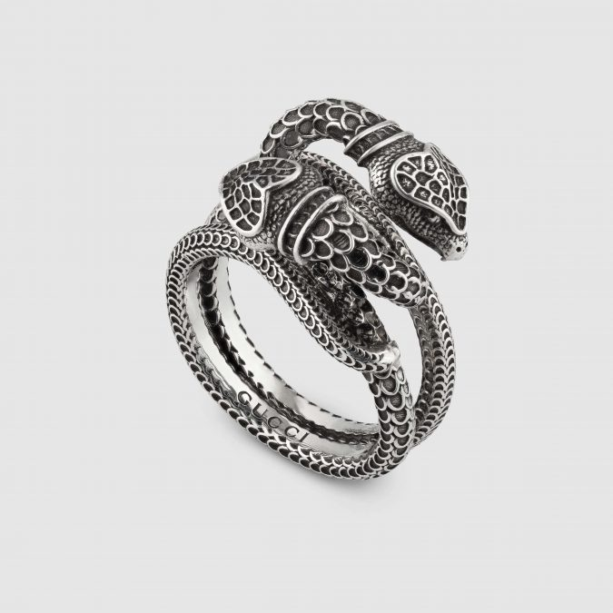 silver-ring-Light-Gucci-Garden-snakes-ring-675x675 60+ Stellar Sterling Silver Rings for Women
