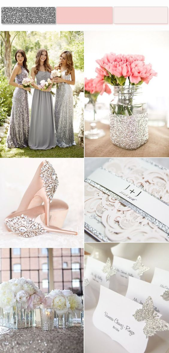 silver Trend Forecasting: Top 15 Expected Wedding Color Ideas for 2019