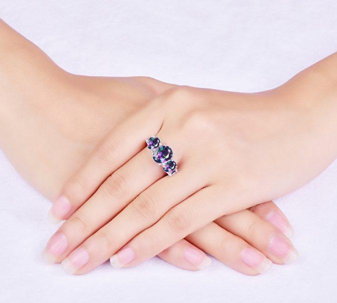 sterling-silver-ring-675x607 60+ Stellar Sterling Silver Rings for Women