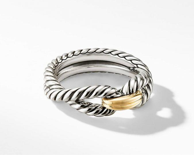 sterling-silver-ring-David-Yurman-2-675x540 60+ Stellar Sterling Silver Rings for Women