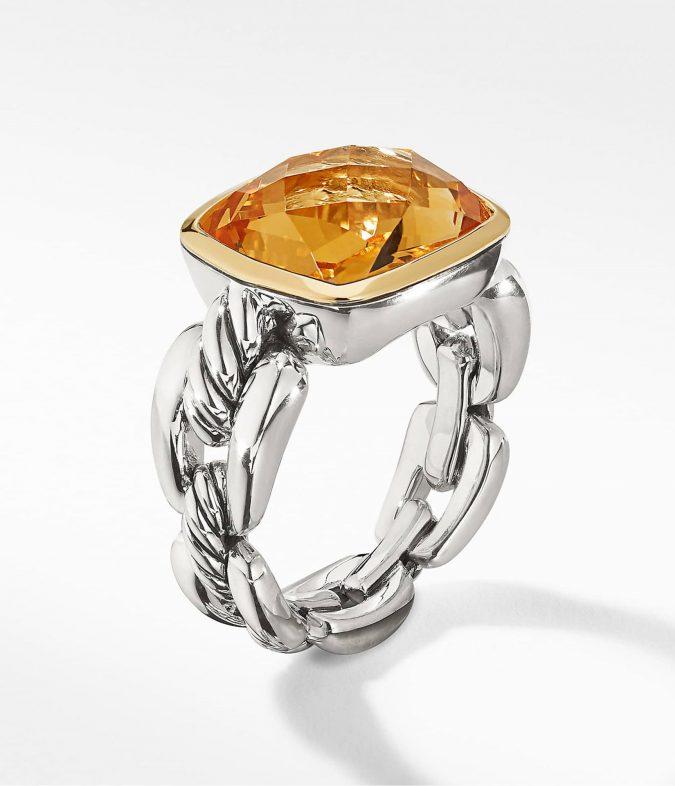 sterling-silver-ring-David-Yurman-675x786 60+ Stellar Sterling Silver Rings for Women