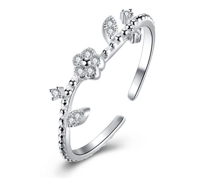 sterling-silver-ring-Haokan-3-675x594 60+ Stellar Sterling Silver Rings for Women
