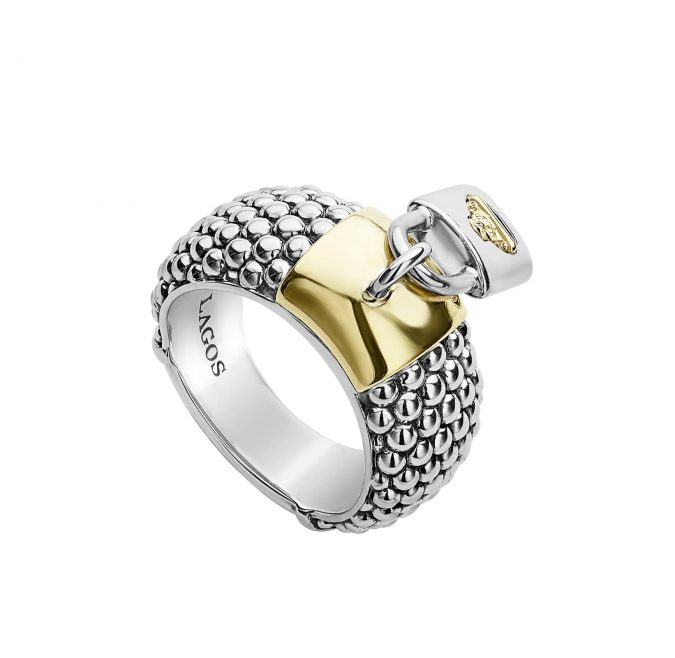 sterling-silver-ring-lagos-675x658 60+ Stellar Sterling Silver Rings for Women