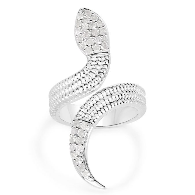 sterling-silver-ring-snake-675x675 60+ Stellar Sterling Silver Rings for Women