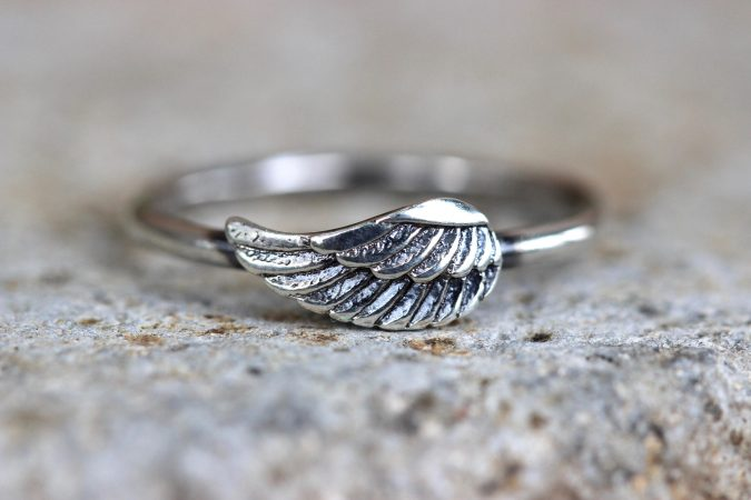 sterling-silver-ring-wing-675x450 60+ Stellar Sterling Silver Rings for Women