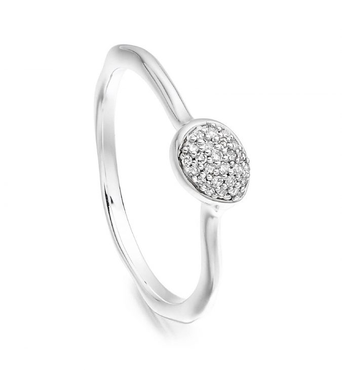 sterling-silver-ring-with-diamonds-Monica-Vinader-2-675x734 60+ Stellar Sterling Silver Rings for Women