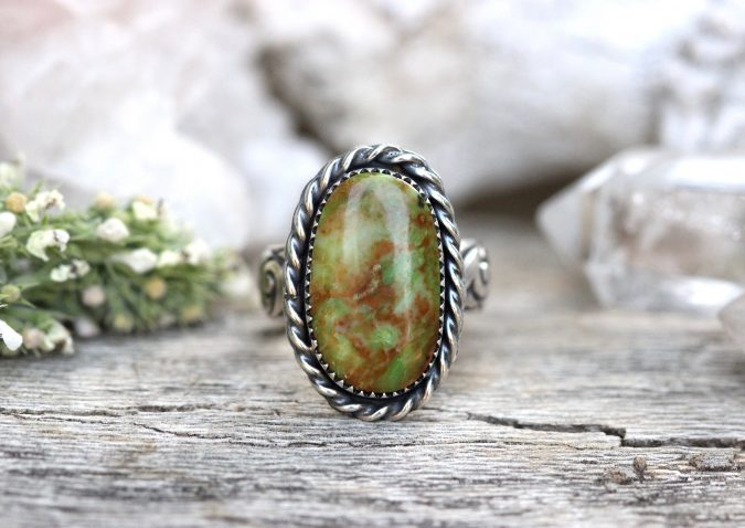 sterling-silver-ring-with-stone-675x478 60+ Stellar Sterling Silver Rings for Women