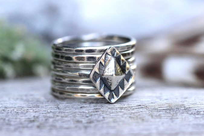 sterling-silver-rings-set-2-675x450 60+ Stellar Sterling Silver Rings for Women