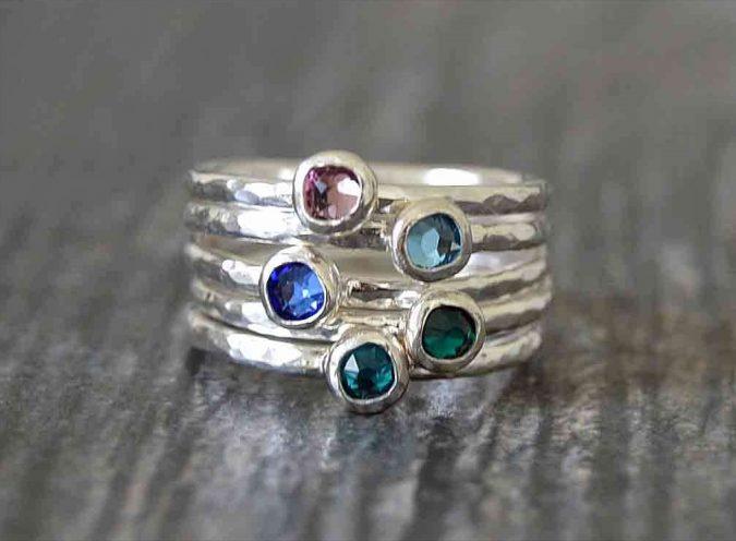 sterling-silver-rings-set-675x496 60+ Stellar Sterling Silver Rings for Women