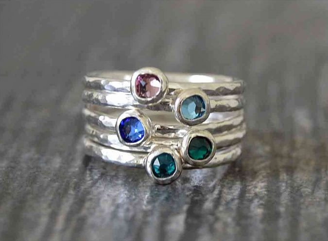sterling-silver-rings-set-675x496 60+ Stellar Sterling Silver Rings for Women