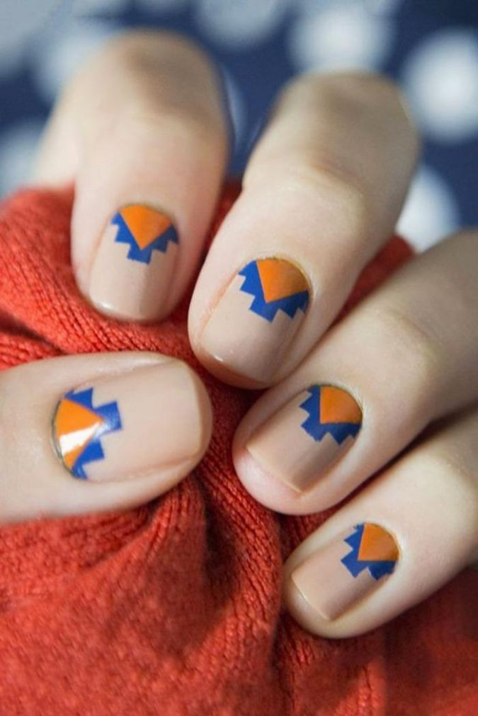 tribal-nail-design-3-675x1012 60+ Most Fabulous Winter Nail Design Ideas This Year