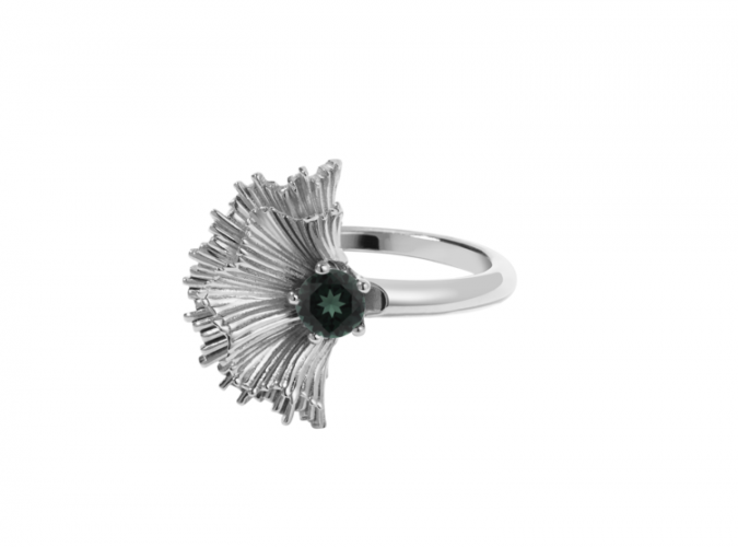 vita-ring-sterling-silver-green-sapphire-675x500 60+ Stellar Sterling Silver Rings for Women