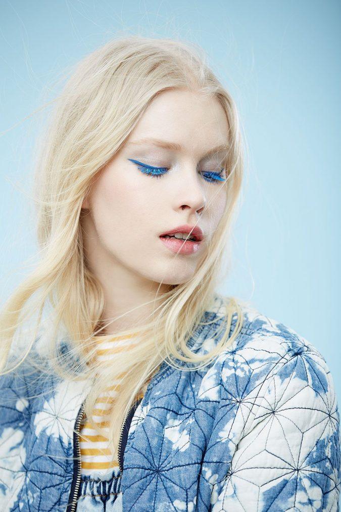 wedding-makeup-blue-eyeliner-and-mascara-3-675x1013 Top 10 Wedding Makeup Trends for Brides in 2020