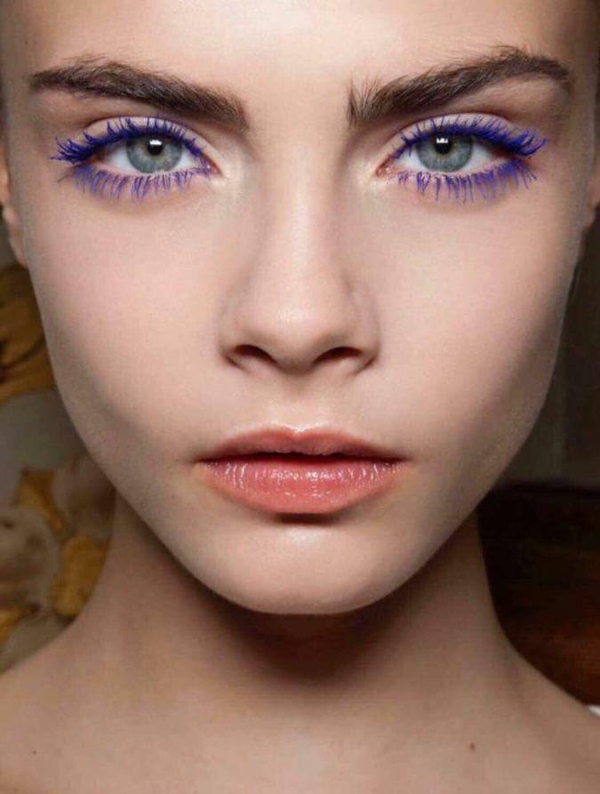 wedding-makeup-blue-mascara-675x893 Top 10 Wedding Makeup Trends for Brides in 2020