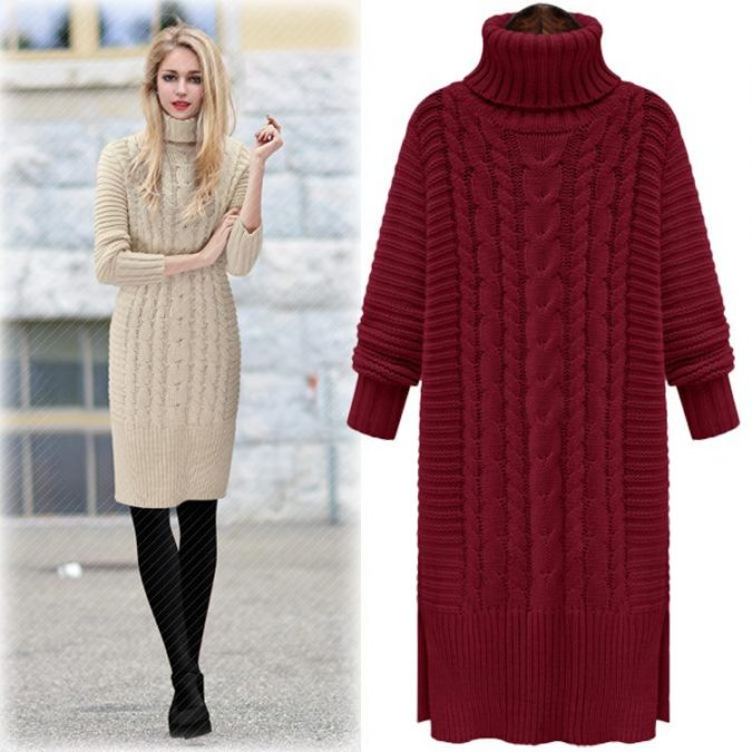 winter-outfit-dress-675x675 70+ Elegant Winter Outfit Ideas for Business Women