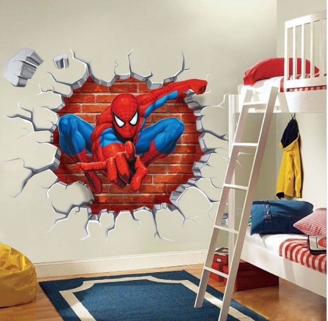 3D-wall-sticker-design-1-675x661 15 Simple Décor Tips to Make Your Kids' Room Look Attractive