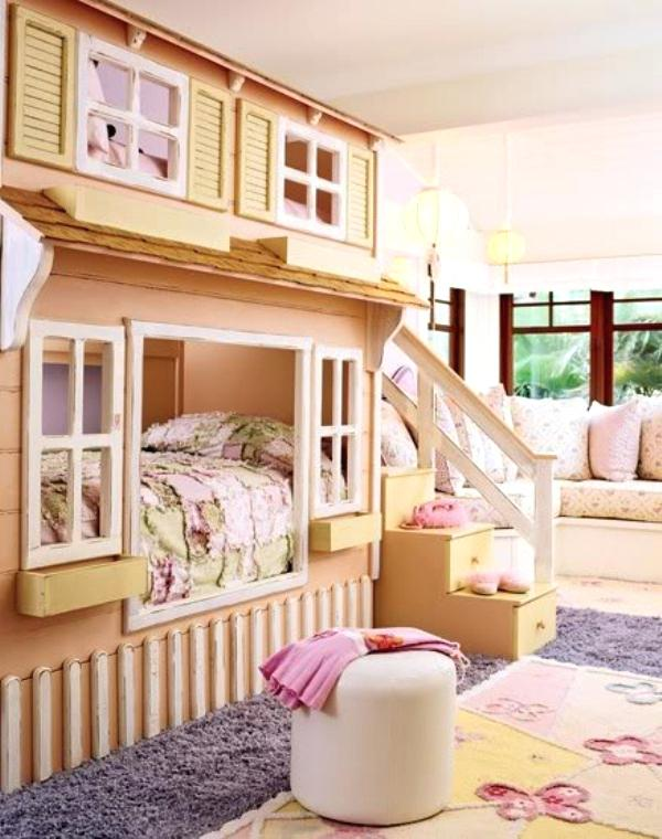 A-mini-House-in-a-House 15 Simple Décor Tips to Make Your Kids' Room Look Attractive