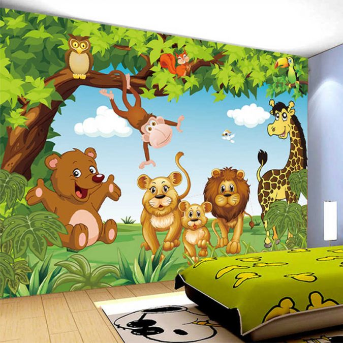 Animated-kids-room-675x675 15 Simple Décor Tips to Make Your Kids' Room Look Attractive