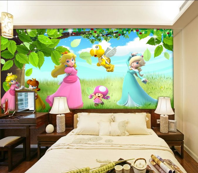 Animated-kids-room.-675x591 15 Simple Décor Tips to Make Your Kids' Room Look Attractive