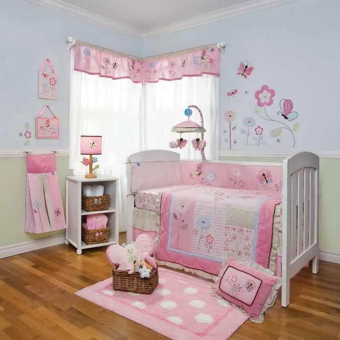 Baby-Girl-Nursery-Theme-675x675 15 Simple Décor Tips to Make Your Kids' Room Look Attractive