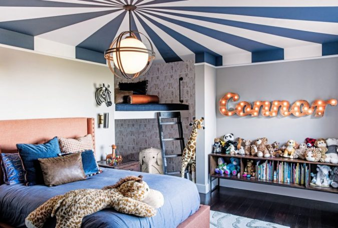 Circus-look-Room-675x456 15 Simple Décor Tips to Make Your Kids' Room Look Attractive