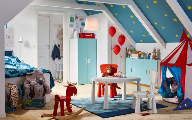 Circus-look-kids-Room-675x424 15 Simple Décor Tips to Make Your Kids' Room Look Attractive