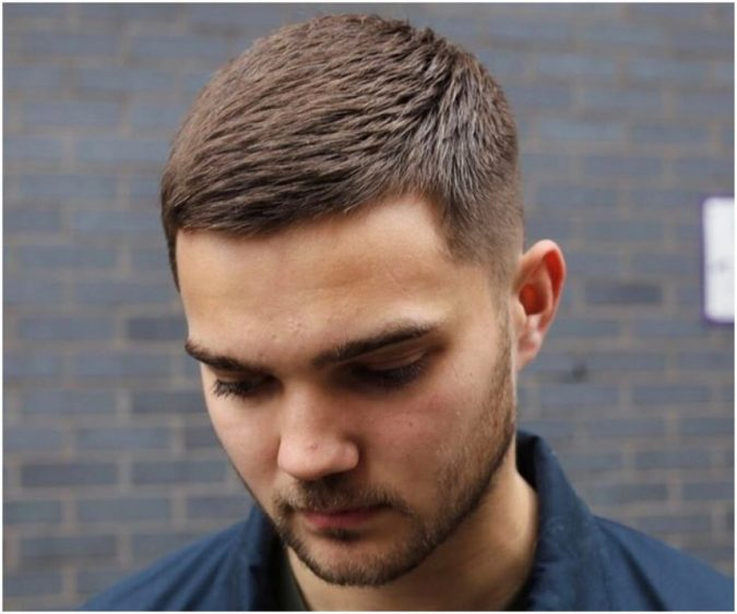 Crew-haircut-675x563 10 Best Men's Haircuts According to Face Shape in 2020