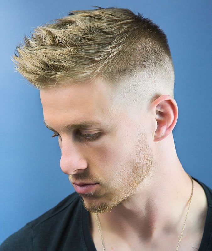 Faux-Hawk-haircut-2-675x800 10 Best 2019 Men's Haircuts According to Face Shape
