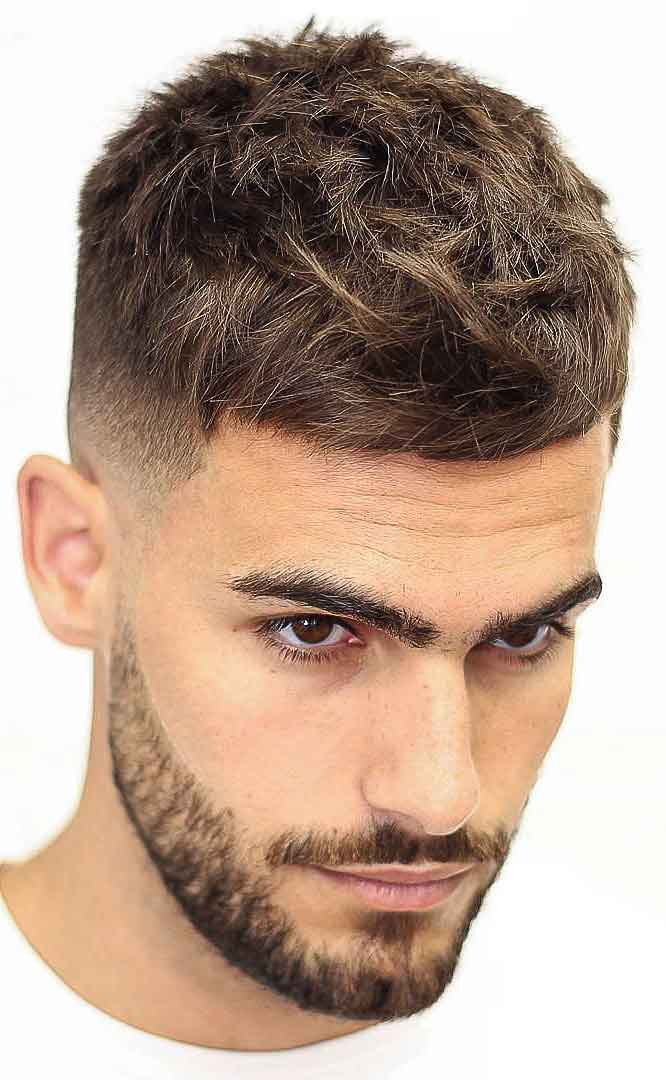 French-crop-haircut 10 Best 2019 Men's Haircuts According to Face Shape