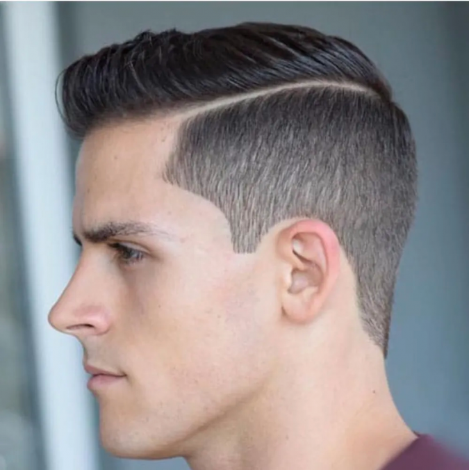 High-Taper-Fade-haircut-675x676 10 Best Men's Haircuts According to Face Shape in 2020