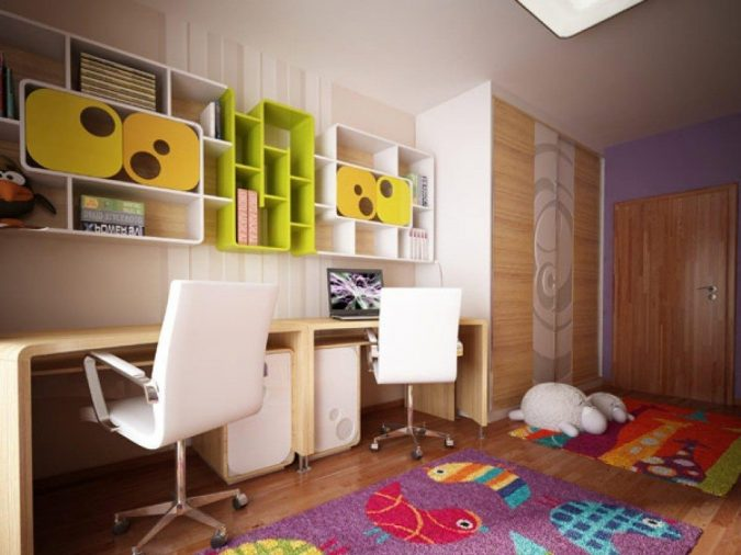 Mini-library-design-for-kids-675x506 15 Simple Décor Tips to Make Your Kids' Room Look Attractive